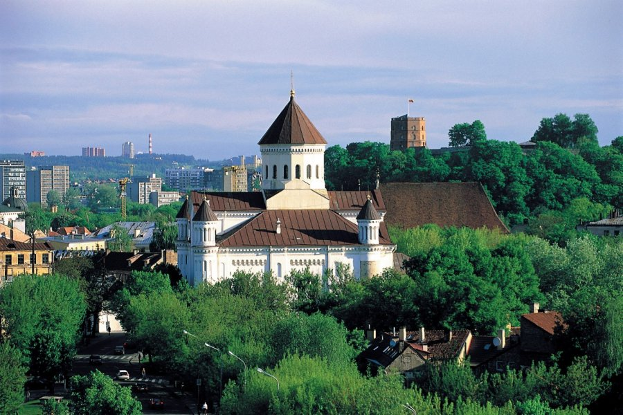 Cathédrale orthodoxe de l'Assomption de Vilnius. (© S.Nicolas - Iconotec))
