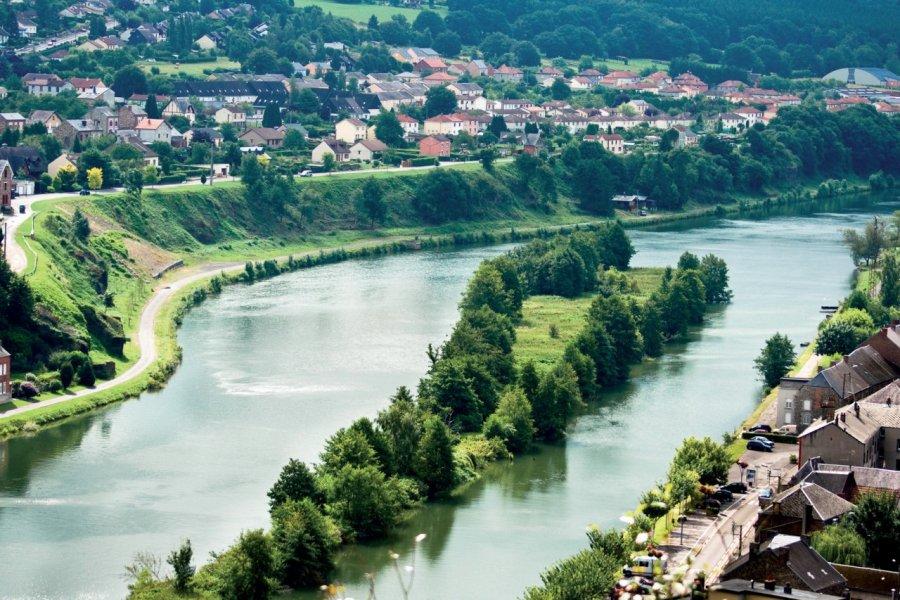Vue aérienne de la Meuse (© UOLIR - FOTOLIA))