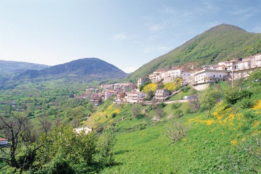 Vue de la ville de Terranova di Pollino. (© Cyril BANA - Author's Image))