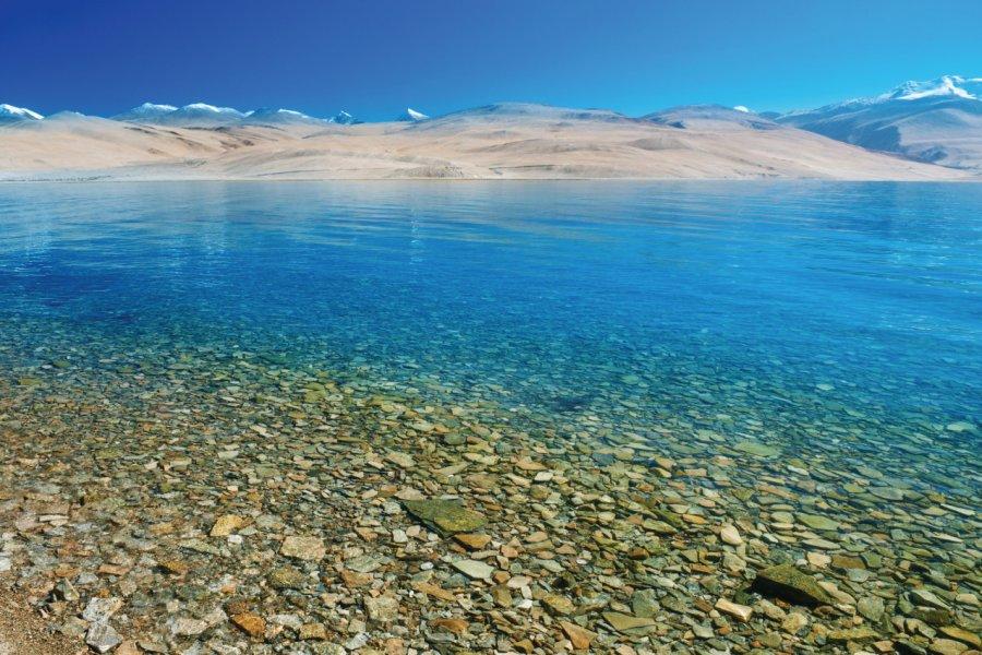 Lac de Tso Moriri. (© szefei))