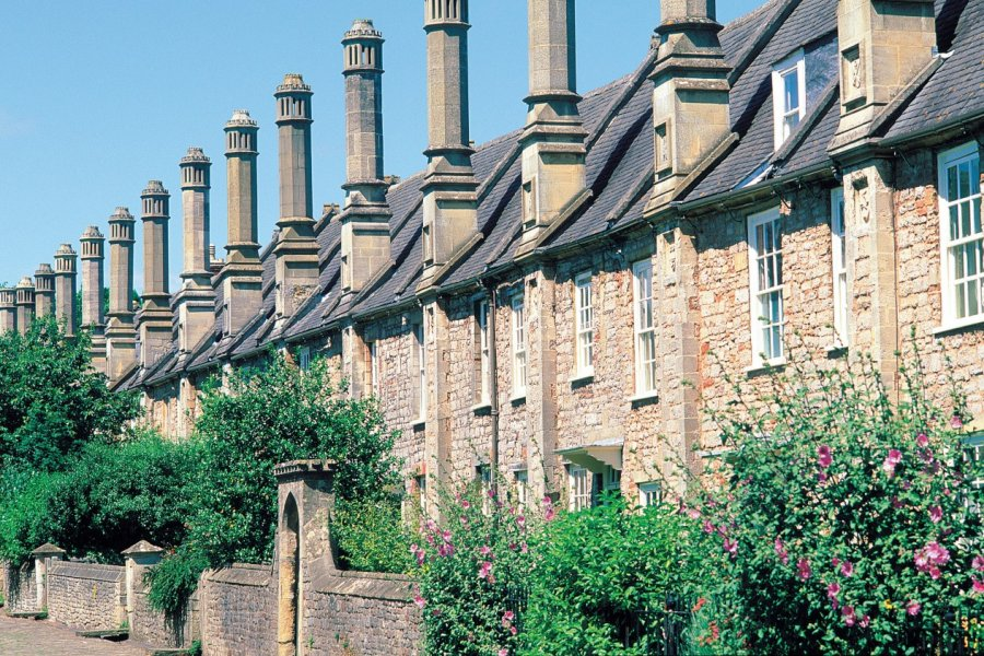 La plus vieille rue de Wells et d'Angleterre. (© Alamer - Iconotec))
