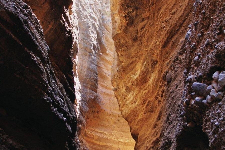 Canyon de Lajedos, dans les environs de Porto Novo. (© Nobai))