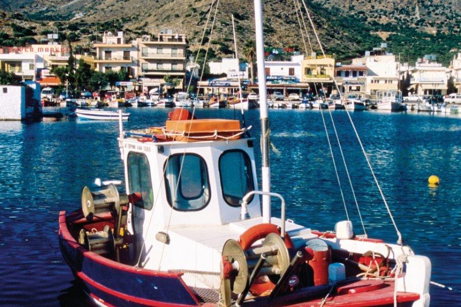 Port d'Elounda. (© Author's Image))