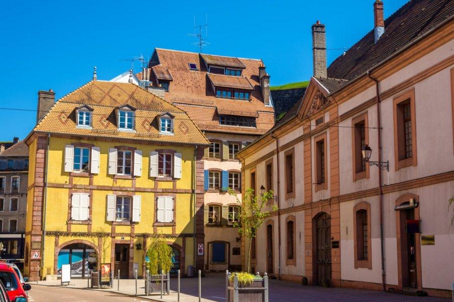 Centre historique de Belfort. (© Leonid Andronov - Fotolia))