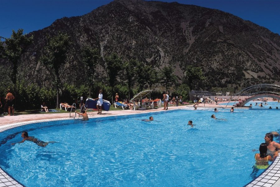 Piscine des Serradells (© Ministère du Tourisme du Gouvernement d'Andorre))