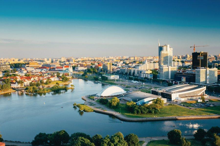 Vué générale de Minsk. (© bruev))