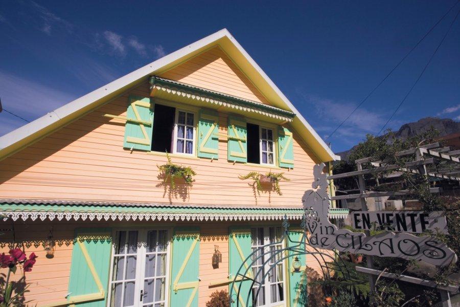Maison créole du centre ville de Cilaos. (© Author's Image))