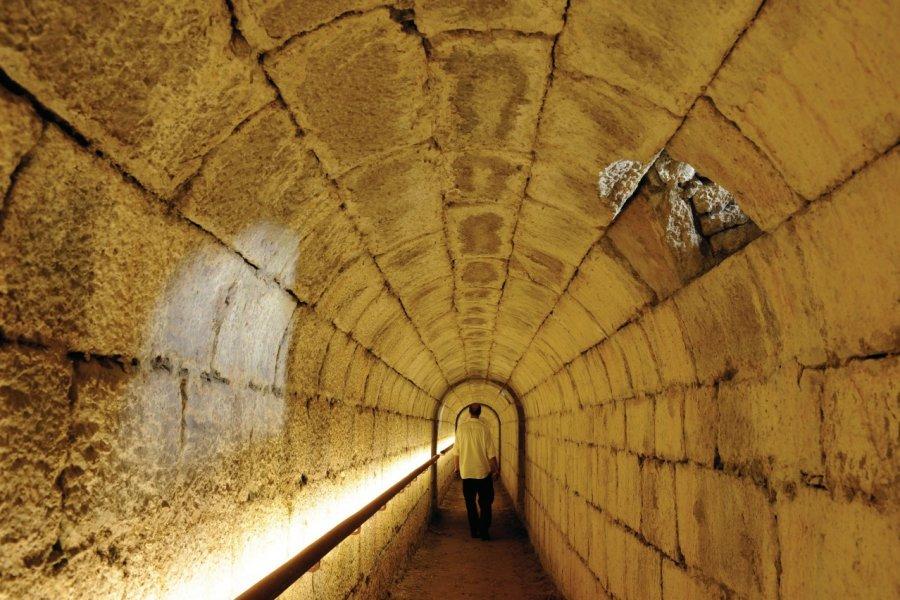 Souterrain de la Citadelle de Besançon (© David Lefranc))