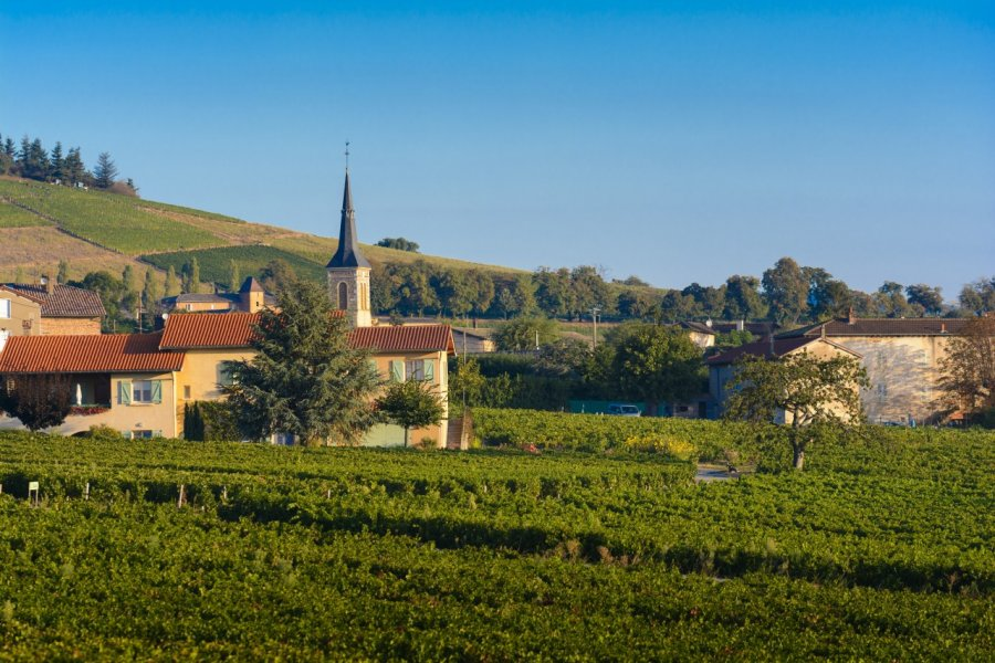 Village d'Odenas. (© Gaelfphoto - Fotolia))