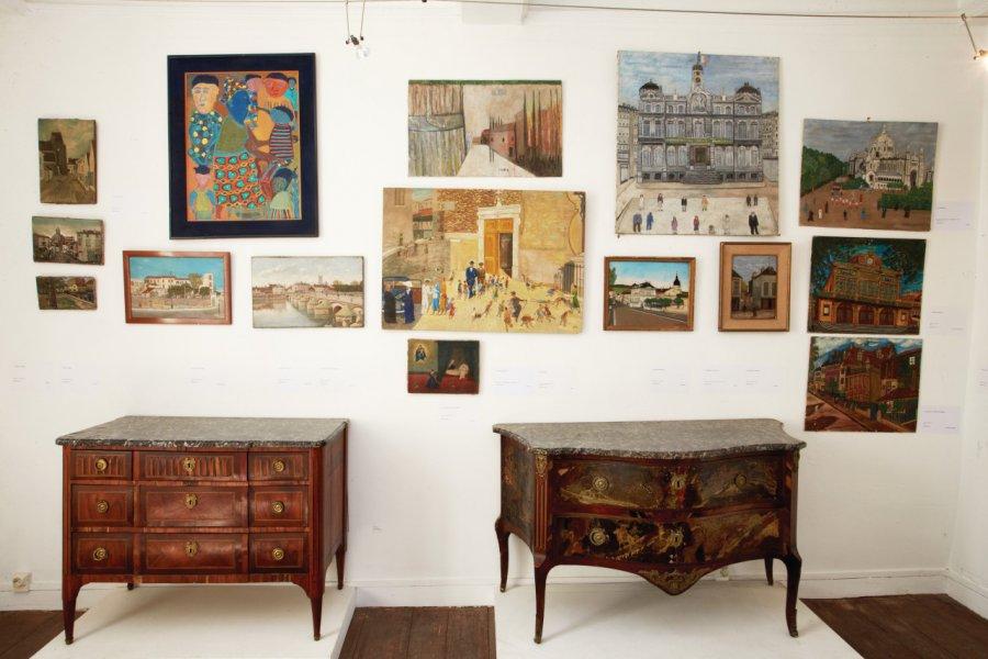 Collection Jean Marc Luce-Art Naïf. (© MUSÉE DES ARTS NAIFS ET POPULAIRES DE NOYERS))