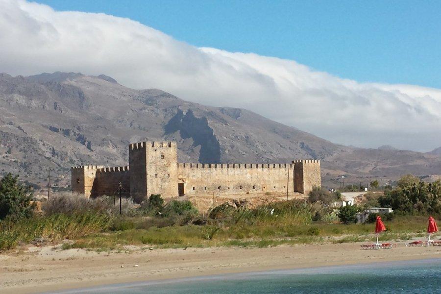 La forteresse de Frangokastello. (© Alex VUCKOVIC))