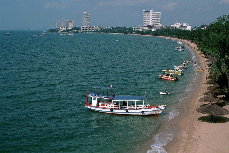 Plage de Pattaya. (© Author's Image))