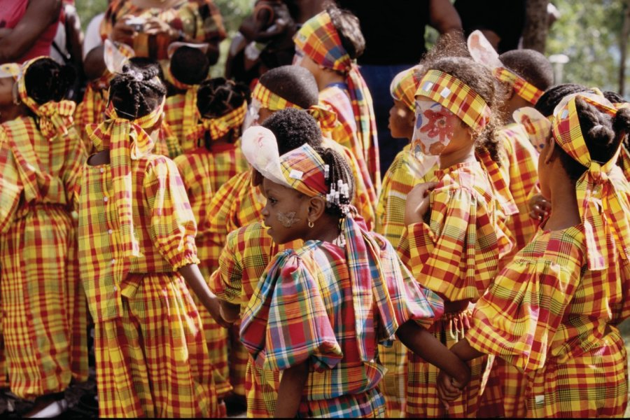 Carnaval des enfants au Gosier. (© Vincent FORMICA))
