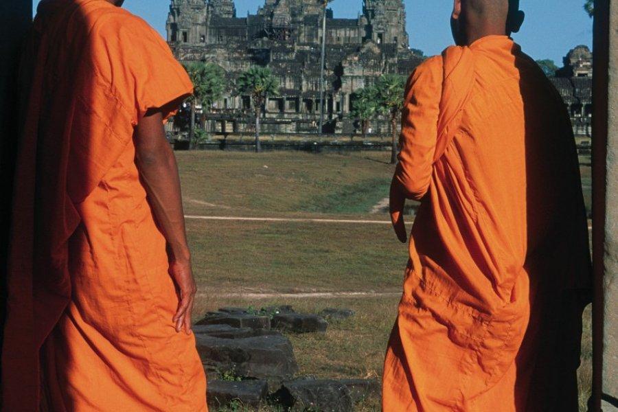 Deux moines. (© Eric Martin - Iconotec))