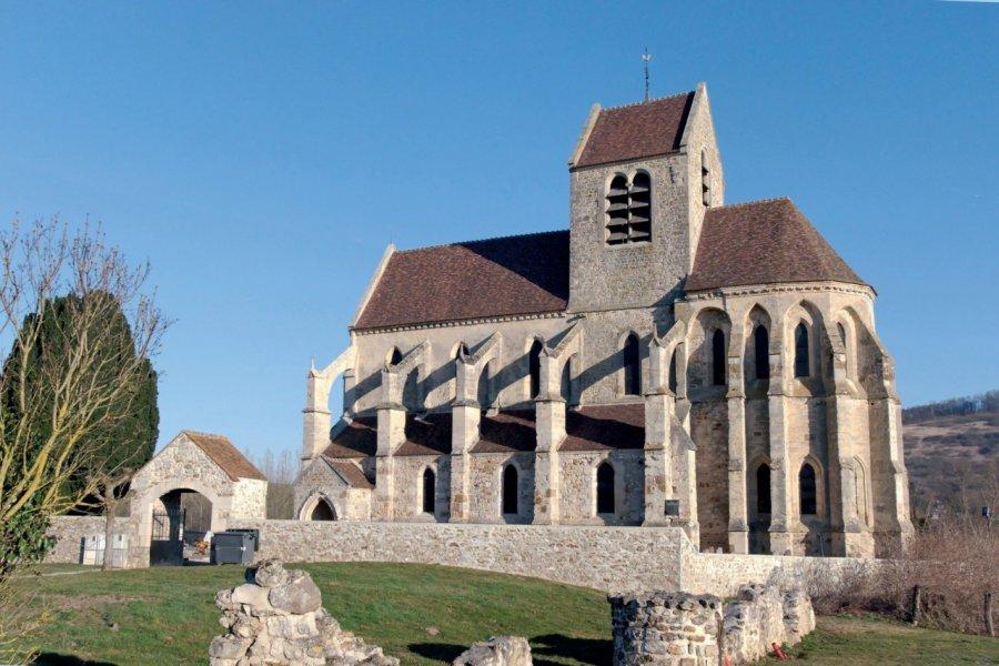 L'église gothique de Mézy-Moulins. (© JPDUBURCQ - FOTOLIA))