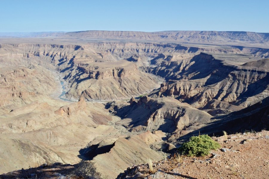 Vue sur la Fish River Canyon. (© Bwelani Tours & Events))