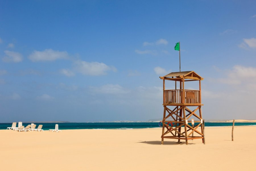 Plage de Praia De Chaves, île de Boa Vista. (© Pearl Bucknall / GO Premium / GraphicObsession))