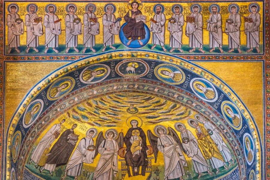 Mosaïques dans la basilique euphrasienne de Poreč. (© footageclips - Shutterstock.com))