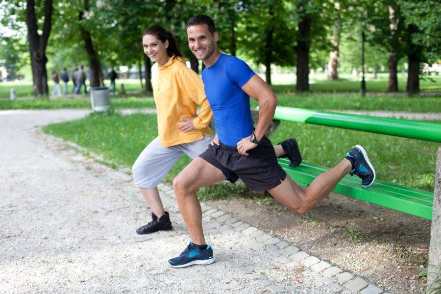 entrainement sportif (© Berc - Fotolia))