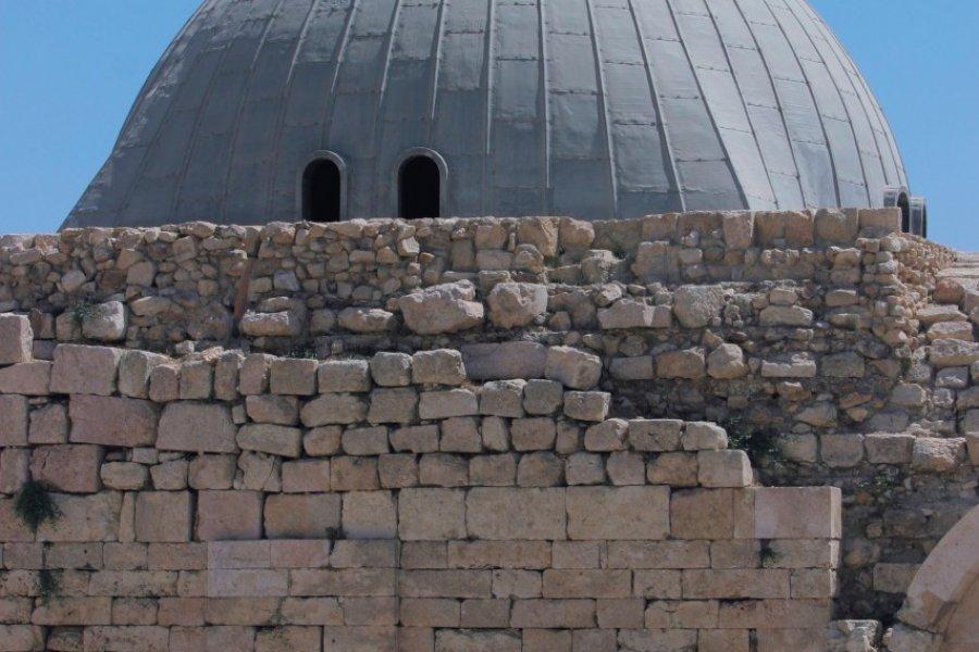 La mosquée Umayyad de la Citadelle. (© Visit Jordan))