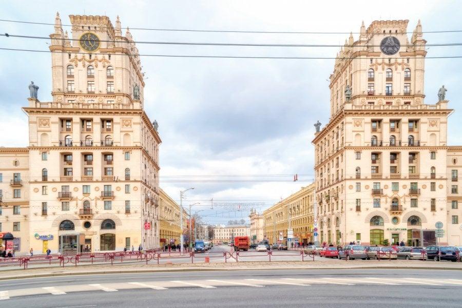 Les portes de la ville de Minsk. (© ppl58))