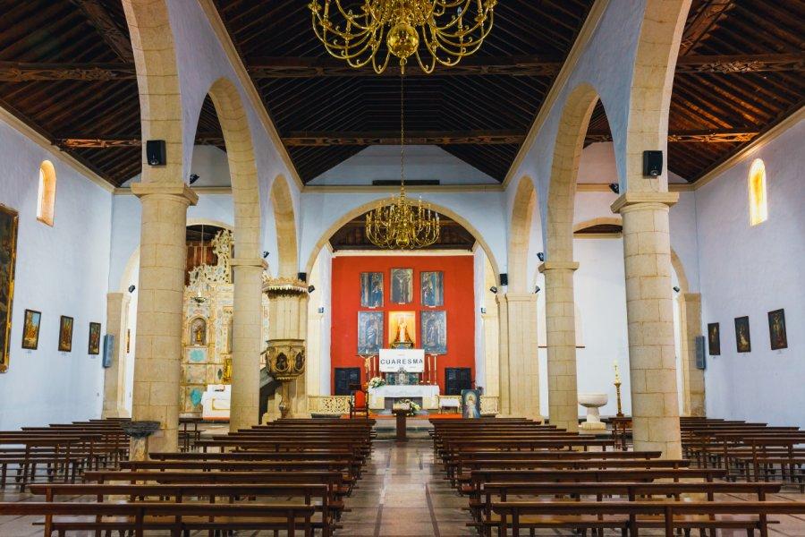 Intérieur de l'église de La Oliva, Fuerteventura. (© Dziewul - Shutterstock.com))