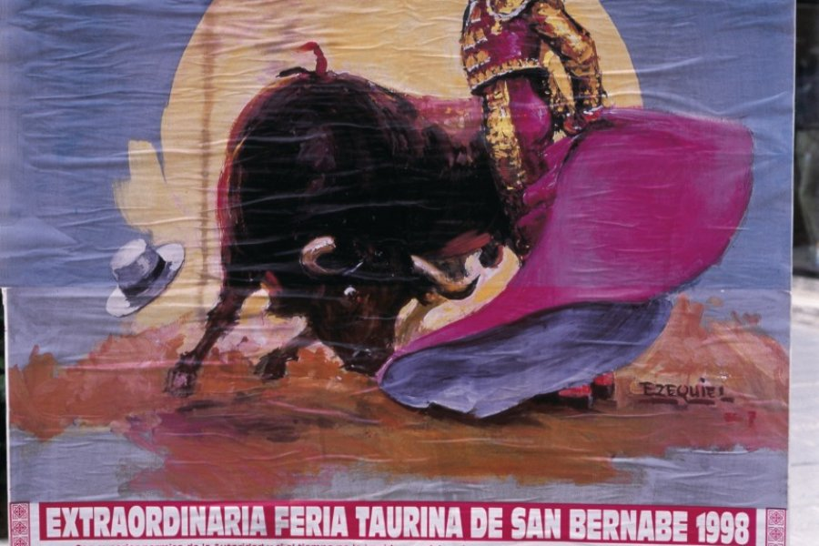 Affiche pour une corrida. (© S.Nicolas - Iconotec))
