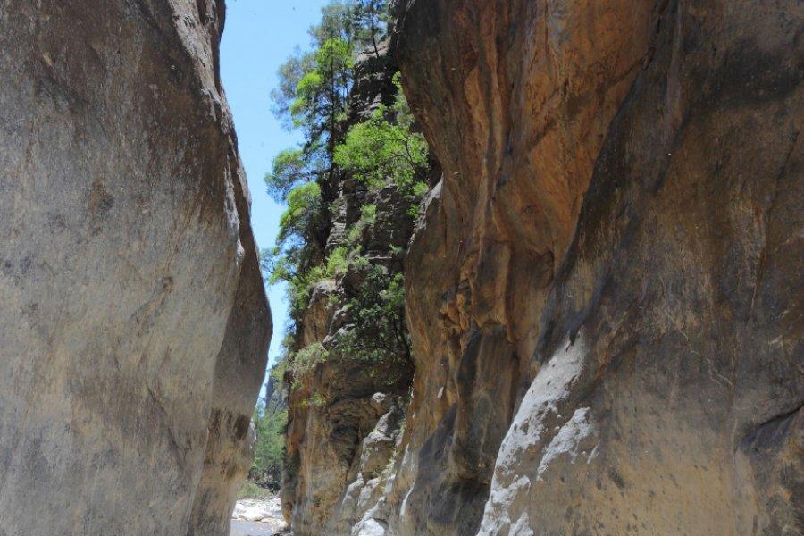 Randonnée dans les Gorges de Samaria. (© Tupungato))