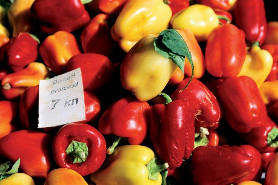 Légumes sur le marché de Trogir. (© Author's Image))