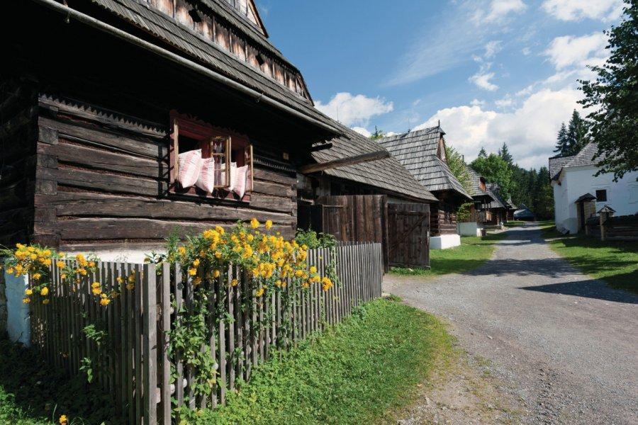 Musée du village de la région d'Orava. (© Ventura - Fotolia))