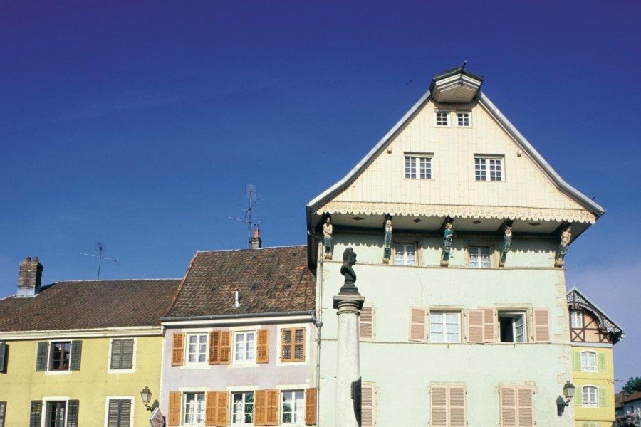 Maison aux caryatides (© PIERRE DELAGUERARD - ICONOTEC))