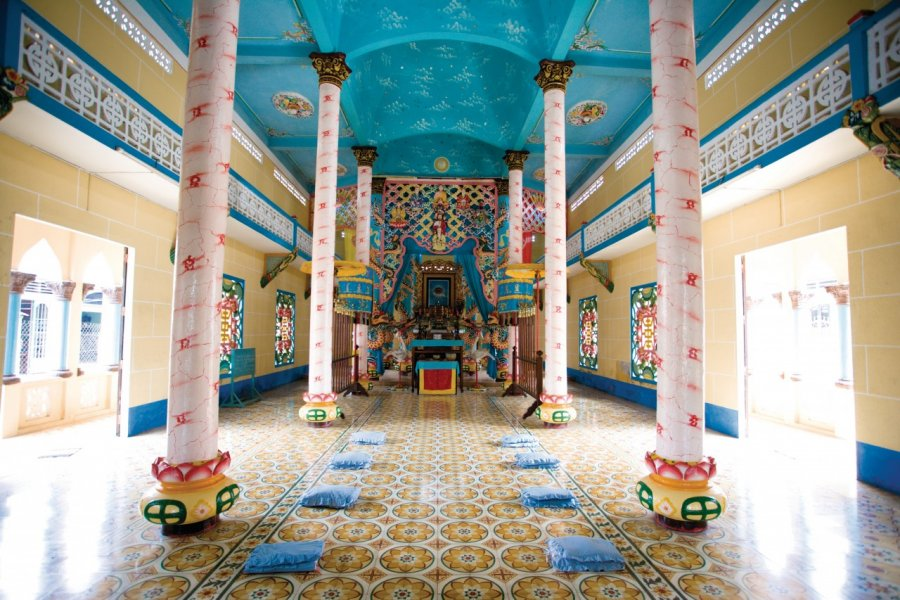 Temple caodaïste de Ben Luc. (© Author's Image))
