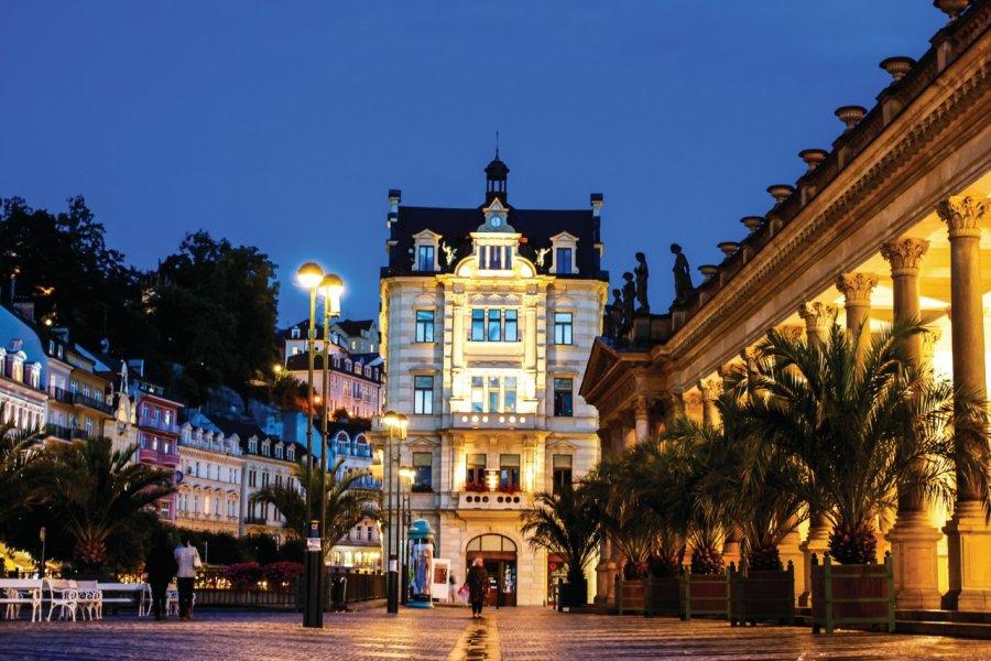 Les thermes de la ville de Karlovy Vary. (© Letty17 - iStockphoto))