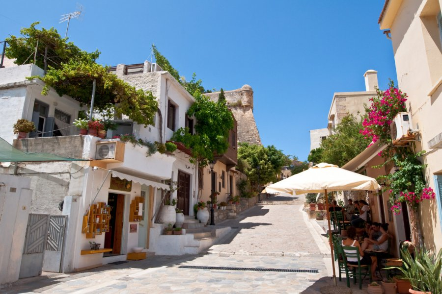 Les rues pittoresques de Rethymnon. (© lornet))