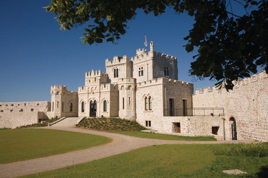 Le château d'Hardelot abrite le Centre culturel de l'Entente cordiale (© Olivier LECLERCQ))