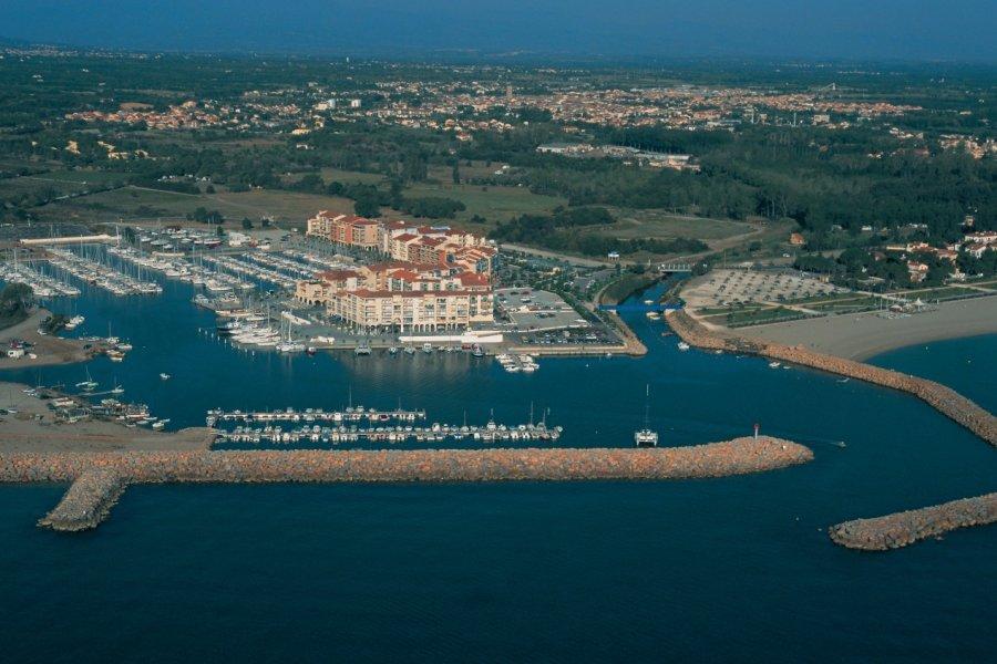 Le port d'Argelès (© HUGO CANABI - ICONOTEC))