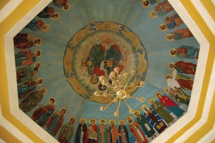 Chapelle Chasovyia, figurant sur le billet de 10 roubles (© Stéphan SZEREMETA))