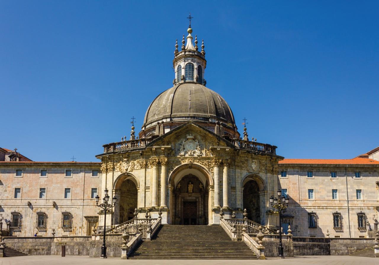 Sanctuaire et la basilique de Loyola. (© Proformabooks))