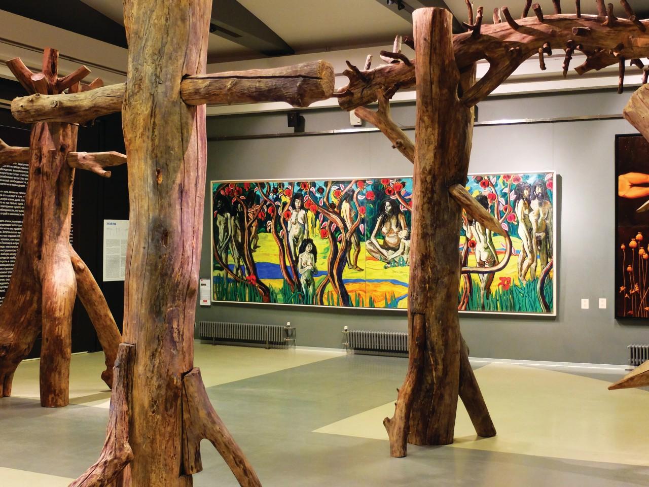 Musée d'art contemporain Erarta. (© Oxana PUSHKAREVA))