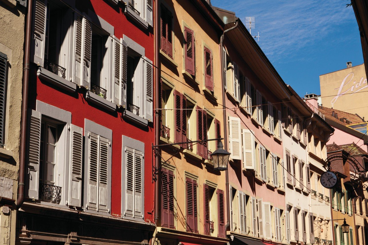 Rue du lac situé dans la vieille ville. (© Philippe GUERSAN - Author's Image))
