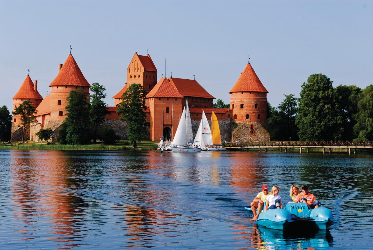 Castillo de Trakai.