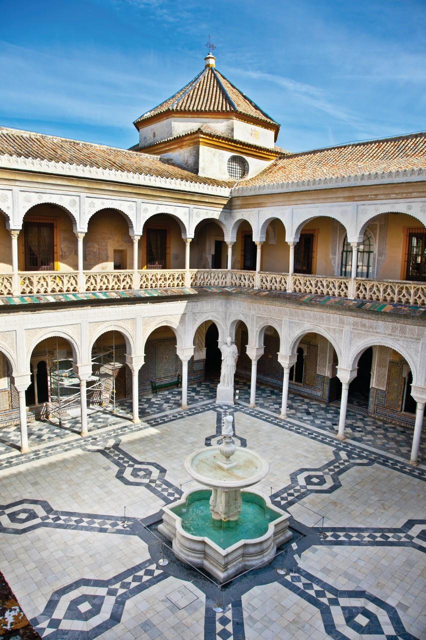 Patio de la Casa de Pilatos. (© Master2 - iStockphoto))