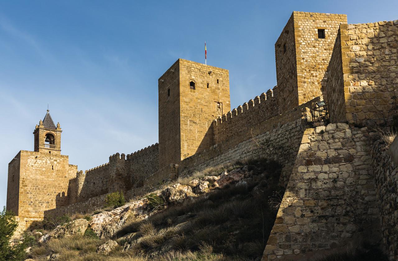 Château d'Antequera. (© Estellez))