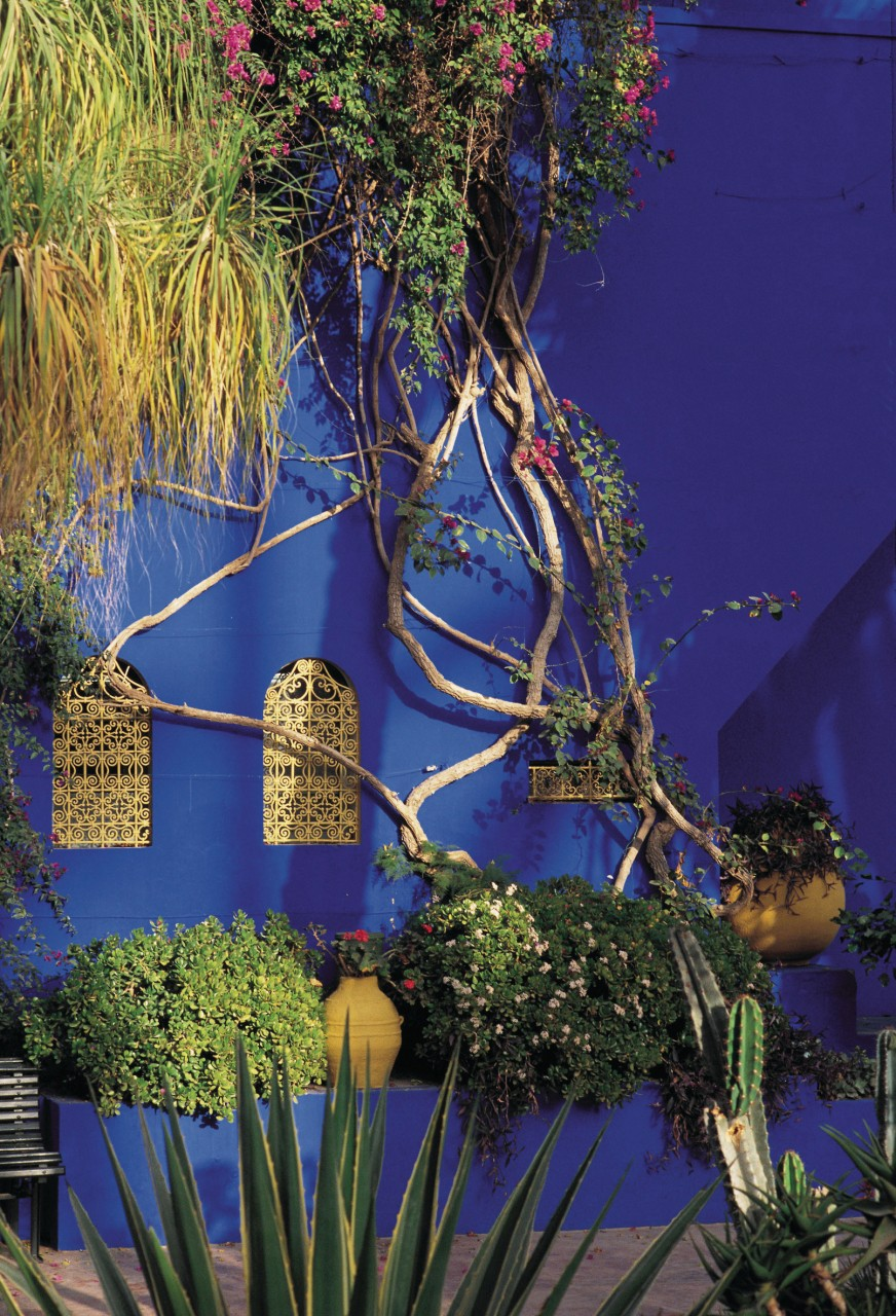 Pavillon du jardin Majorelle. (© Alamer - Iconotec))