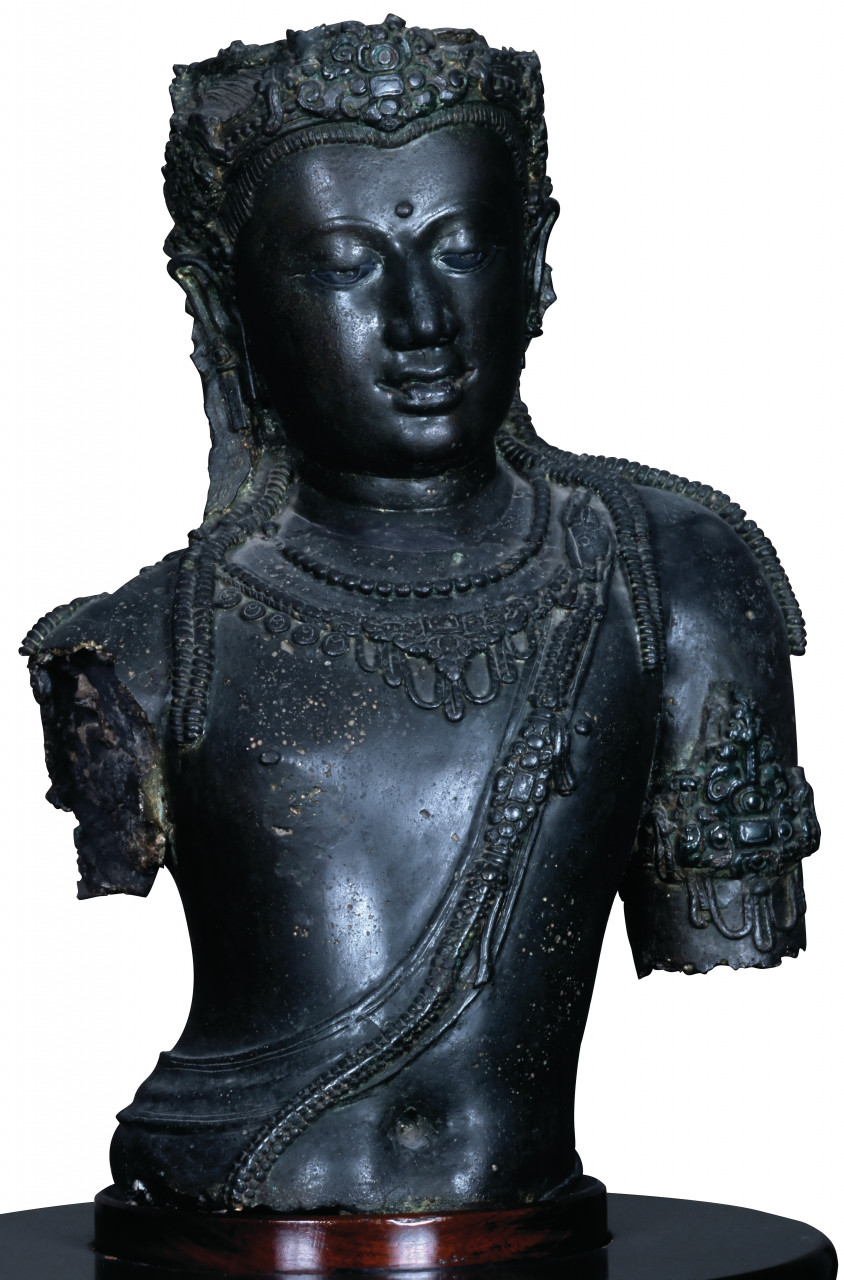 Musée national, Bodhisattva Padmapani. (© Mickael David - Author's Image))