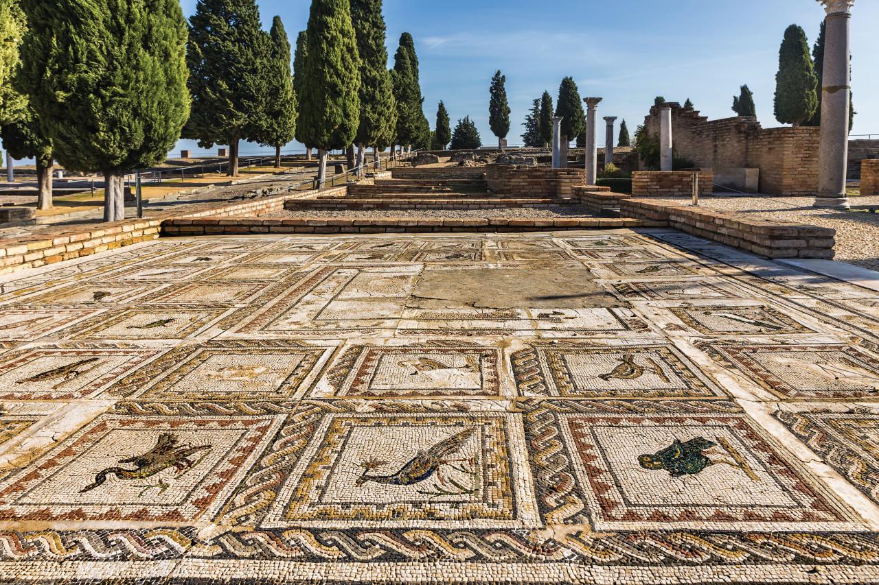 Site archéologique d'Italica. (© Estellez))