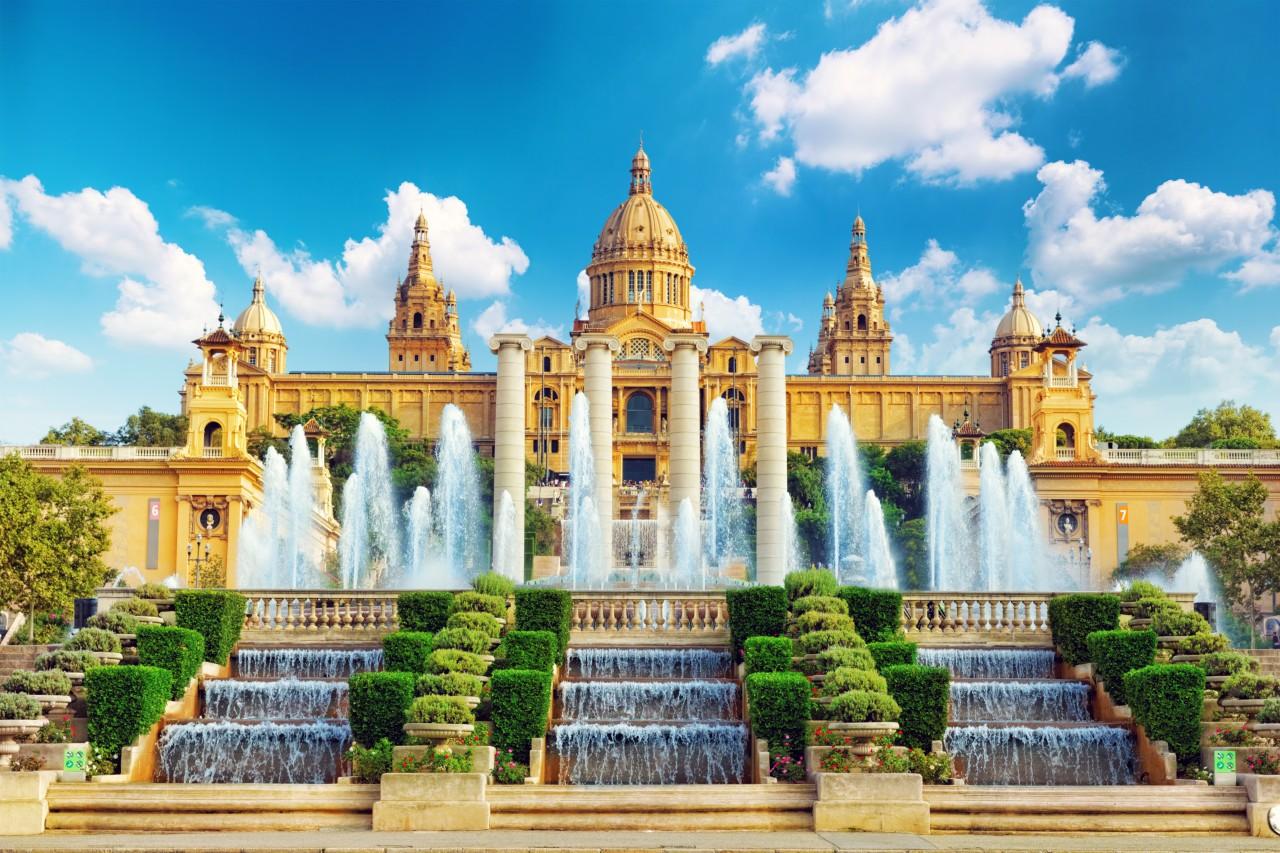 Le musée national d'art de Catalogne. (© Brian Kinney / Shutterstock.com))