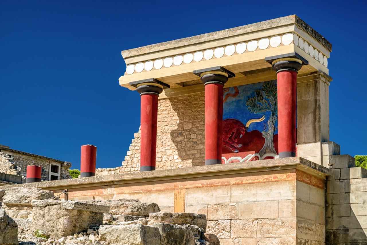 Le Grand Palais, Cnossos. (© Jaroslav Moravcik))