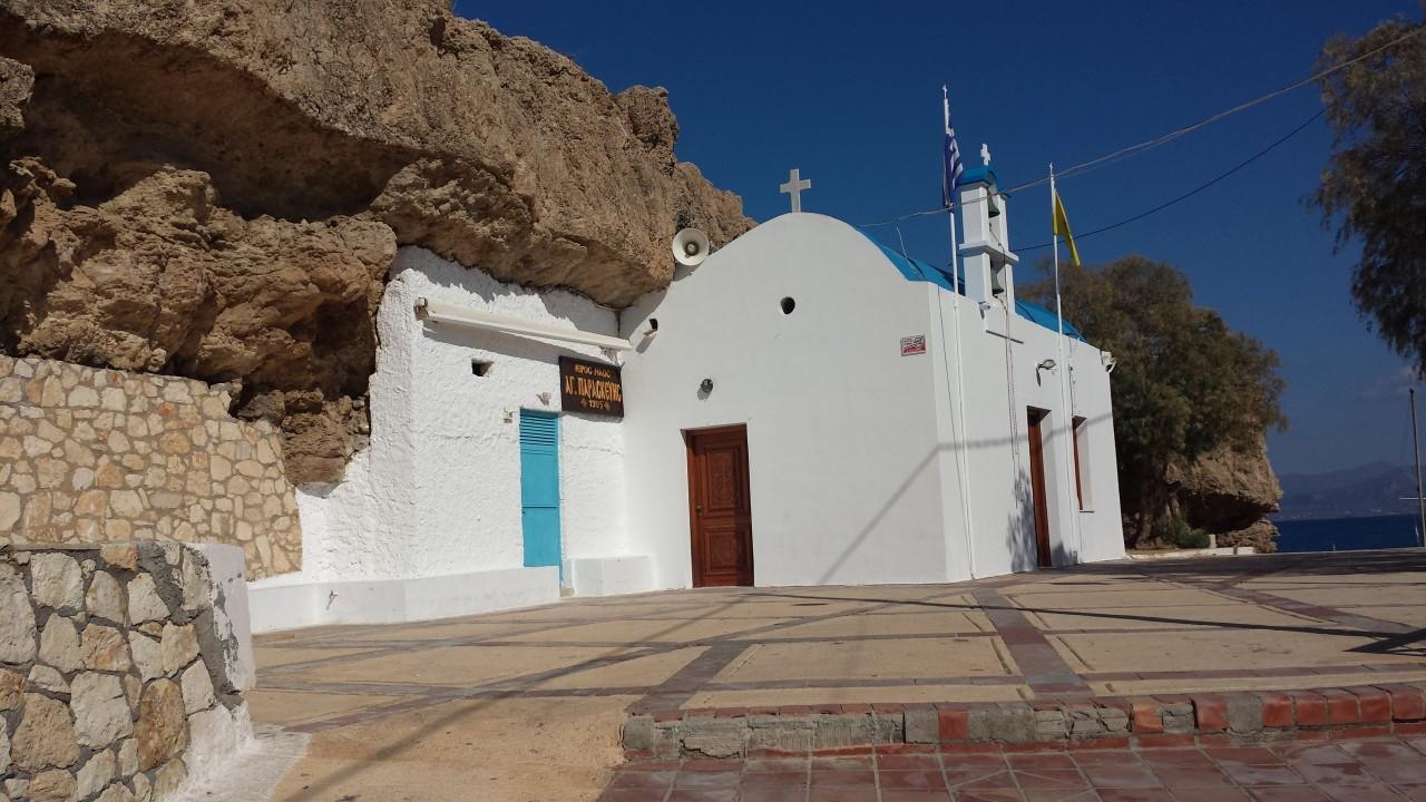 L'église Agia Paraskevi à Hersonissos. (© Alex VUCKOVIC))