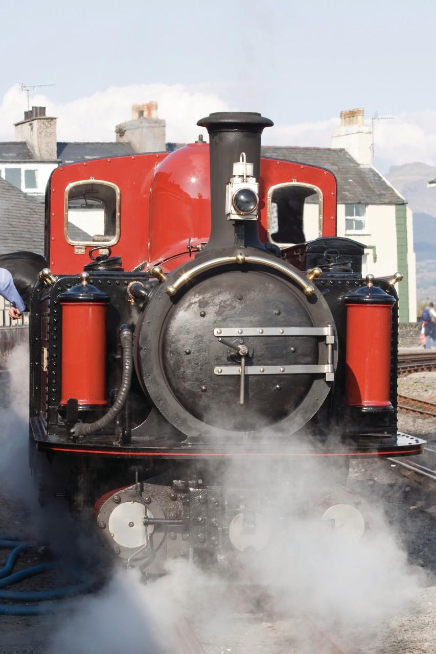 Les locomotives à vapeur témoignent du passé minier du Pays de Galles (© Groomee - iStockphoto.com))